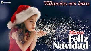 Feliz Navidad Letra/ Villancicos Navideños/Navidad/Noel/Fie...