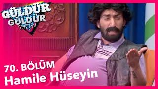 Güldür Güldür Show 70. Bölüm, Hamile Hüseyin Skeci