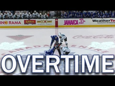 (Full Overtime) San Jose Sharks at Toronto Maple Leafs - 1/04/18