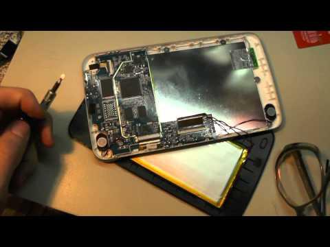 А что внутри :) Ремонт планшета Obreey SURFpad