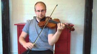 Springlek från Lima efter Kalle Almlöf - Swedish folk music - Violin