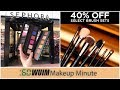 Lots of Black Friday Sales + Sephora Pro Mini & Too Faced Sneak Peek! | Makeup Minute