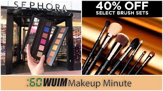 Lots of Black Friday Sales + Sephora Pro Mini & Too Faced Sneak Peek! | Makeup Minute