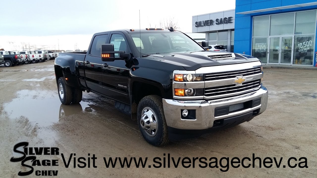 stock t17178 brand new 2017 chevrolet 3500 l5p duramax dually with heated leather seats youtube. Black Bedroom Furniture Sets. Home Design Ideas