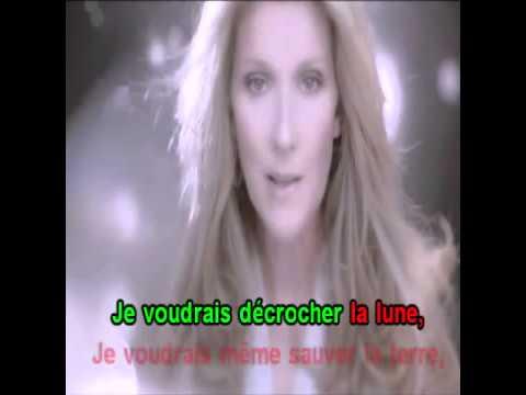 Karaoke Celine Dion Parler a mon pere   YouTube