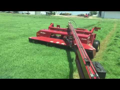 Cutting Hay - Start of the Second Cutting '17