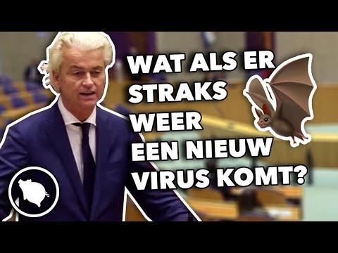 Geert Wilders: Wat als een Chinees weer een vleermuis in een wok gooit en er een nieuw virus komt?