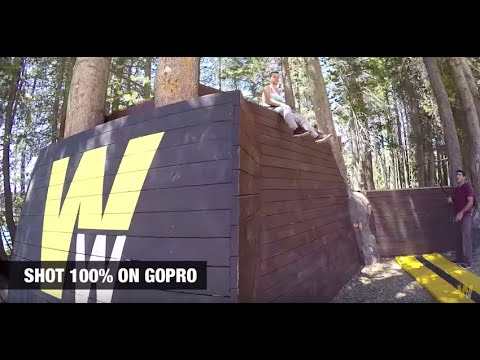 Treetop Trick Woodward Tahoe Parkour - YouTube