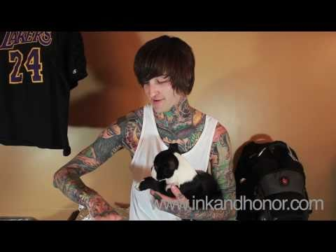 Mitch Lucker Tattoo Interview | Ink And Honor