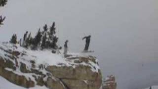 Skiing-Snowboarding-Bighorn Mountains- Double Backflip- Sheridan Wyoming