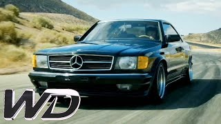 Converting a Mercedes 500 SEC Into an AMG Vehicle   Wheeler Dealers