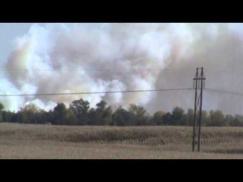 Pt. 2 - Corn Field Fire Southeast of Madrid, Iowa