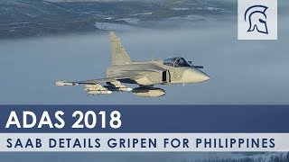 Saab Details Gripen for any Philippines