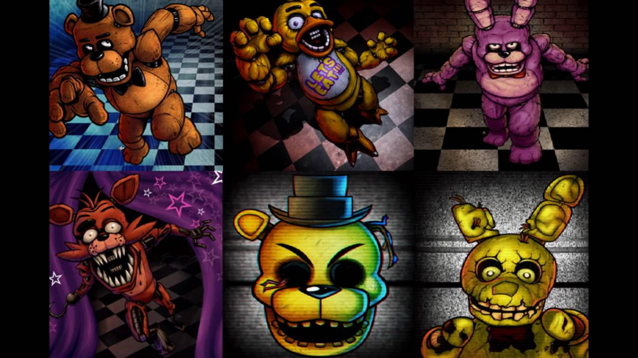 Five Nights At Freddy S Undertale Touhou Wallpapers Slideshow