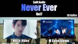 GOT7 - Never Ever (Split Audio) Use Headphones!
