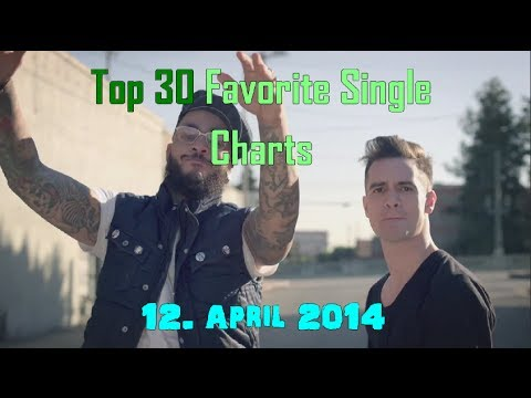 Top 30 Favorite Single Charts April 2014 - 12. April 2014