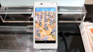 「HTC J ISW13HT」でAnTuTuベンチマークを実行