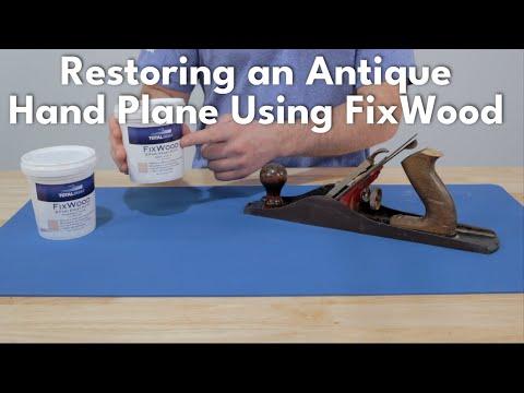 Restoring A Hand Plane Handle Using FixWood