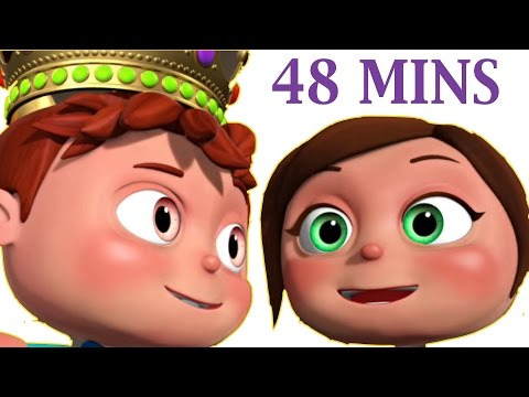 Jack and Jill And Many More | 3D Rhymes |...