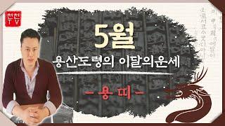 이달의운세▶양력5월 용띠운세 보고가세요▶#용산도령 010.9903.9635