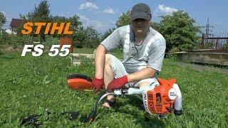 PRO мотокосу Stihl FS 55(Stihl FS55 - универсальная мотокоса с косильной головкой AutoCut 25-2 ТТХ: http://goo.gl/tww5Nx Товары со скидкой..., 2014-08-10T09:11:26.000Z)