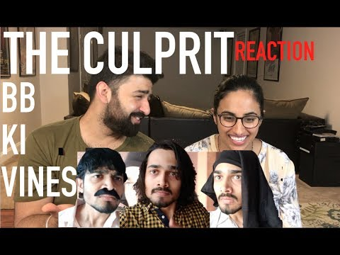 BB Ki Vines - The Culprit (Titu Mama) Reaction Video | by Rajdeep |