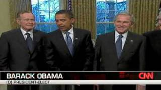 Obama Meets With Former Presidents