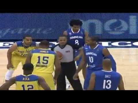 República Dominicana 78 - Islas Virgenes 73 // Centrobasket 2012 (Partido Completo)