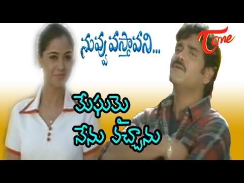 Nuvvu Vasthavani Songs - Meghamai - Nagarjuna - Simran