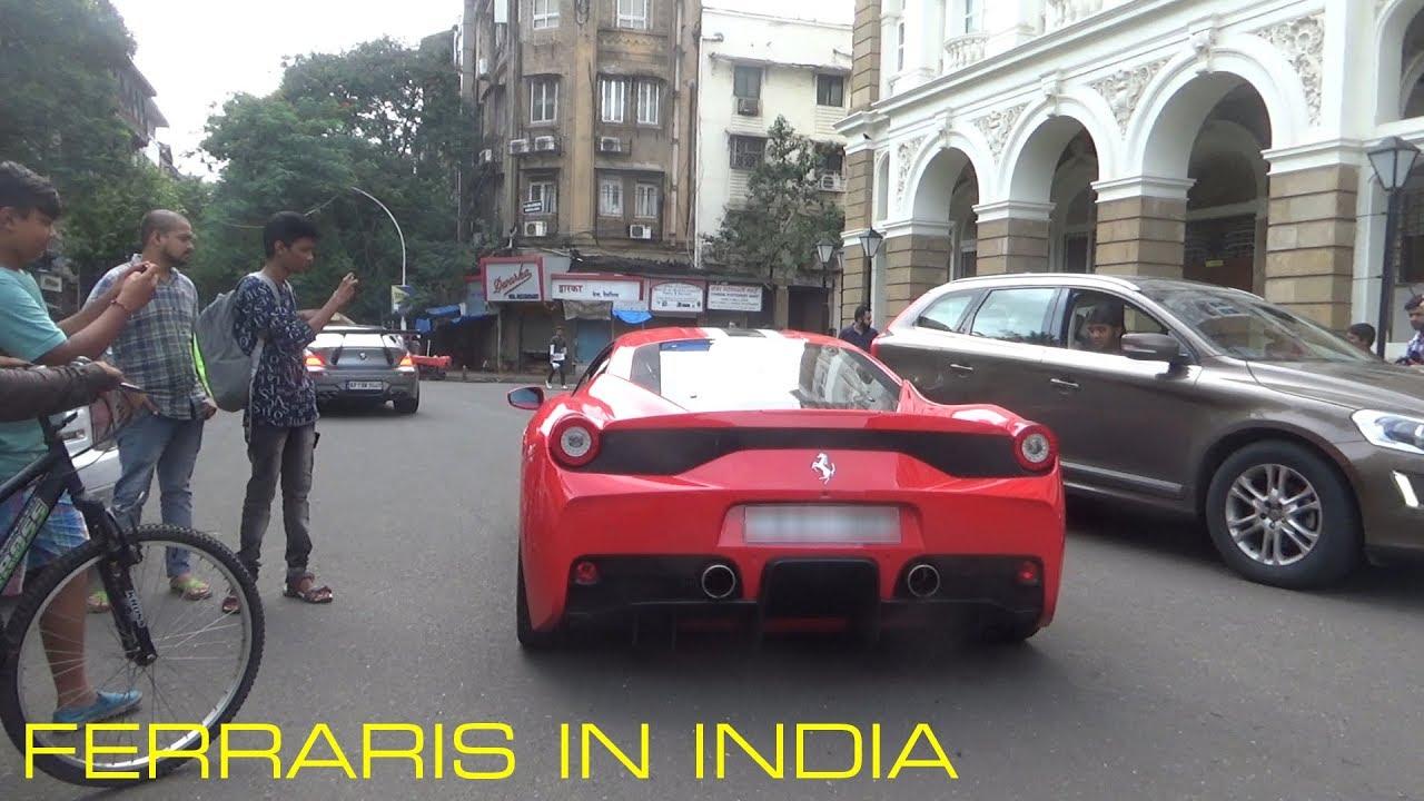 FERRARI IN INDIA | MUMBAI | 2017