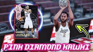ff1dc8e68 NBA 2K18 PINK DIAMOND 99 OVERALL KAWHI LEONARD GAMEPLAY!!  40 POINTS  ...