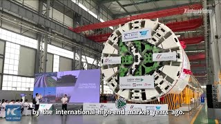 Chinese firm exports tunnel boring machine to Italy