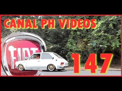 FIAT 147 LINDOO !!!!  SUSPENSÃO A AR + BBS15 =CANAL PH VIDEOS