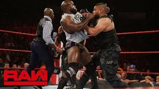 The Authors of Pain refuse help from Titus O'Neil: Raw, July 23, 2018