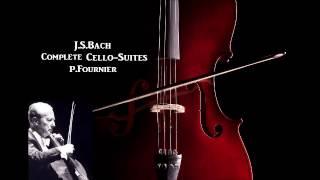 J.S.Bach Complete Cello-Suites [ P.Fournier ] (1960)