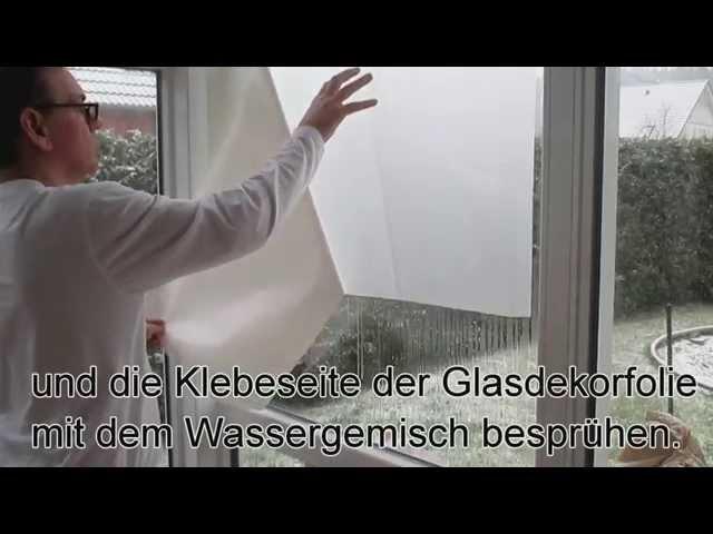 Fensterfolie anbringen TRICK
