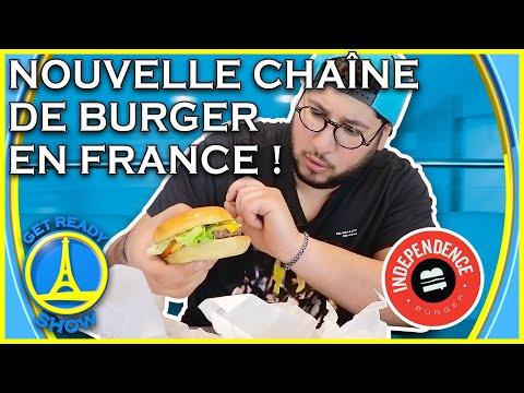 NOUVELLE CHAINE DE BURGER EN FRANCE ! DEGUSTATION - GET READY SHOW #107