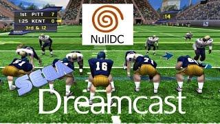 Dreamcast NCAA 2k2 Football on PC 60fps emu (Sega, 2001)