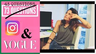 73 (εντάξει 43) Questions With Mairiboo | Vogue x Instagram
