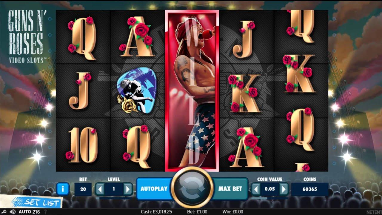 Guns and Roses NetEnt Online Slot Game - Rizk Casino