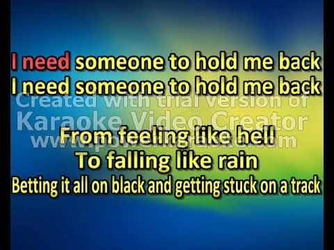 Parker McCollum - Hold Me Back (karaoke) (by request)