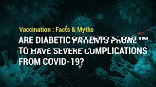 Are diabetic patients prone to have severe complications from COVID-19? | Apollo Hospitals