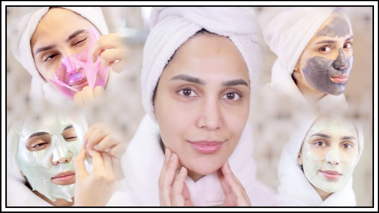 AMAZING FACE MASKS THAT WORK! | Amena