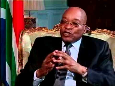 President Jacob Zuma's interview with Tim Modise after the 2010 SONA: Interview03