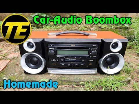 Homemade Car-Audio Boombox V2