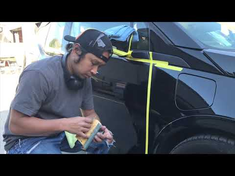 How to remove scratches from a car 😀