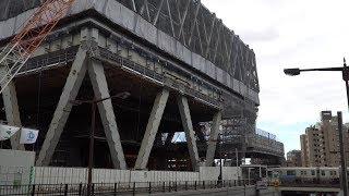 西武鉄道池袋旧本社ビル建替え計画の建設状況(2017年11月19日) thumbnail