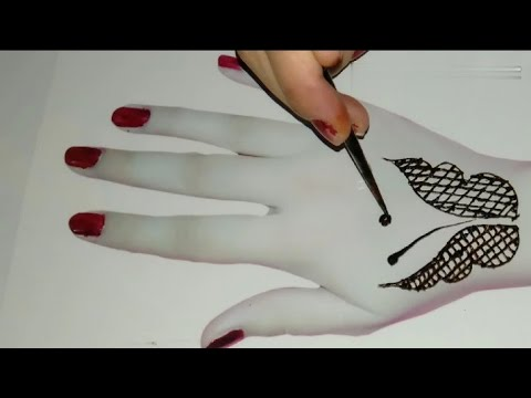 Simple and Easy Butterfly Mehndi Design Tutorial thumbnail