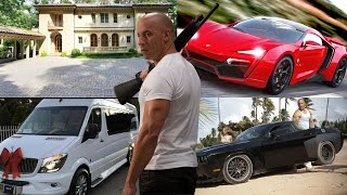 Vin Diesel - Net Worth Car Collection House