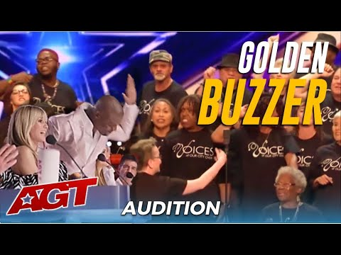 "Voices Of The City ""Homeless"" Choir Get Terry Crews GOLDEN BUZZER!"
